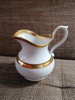 Gyönyörű, régi (mosdó?) kancsó, 8 dl-es, gyönyörű formákkal és aranyozással.