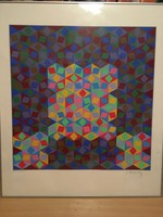 Vasarely artwork