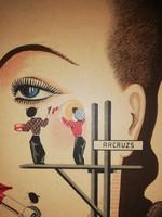 Karton reklám tábla 1940 es évek DURDILLY