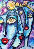 B. Preszecsán Hajnalka-festmény/vászon 70x50cm