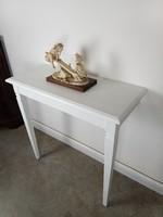 Fehér provence konzolasztal