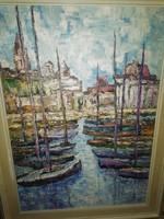 Vén Emil : kikötő