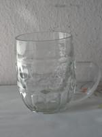 Régebbi kocsmai üveg sörös korsó ( 0.5 Literes )