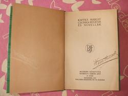 Kaffka Margit - Csonka Regény És Novellák - 1911-  Első Kiadás !