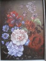 Barokk virág csendélet !