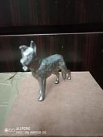 Különleges német juhászkutya szobor
