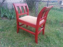 Gyönyörű minőségi tömör fa etrüszk szék akár szállítással