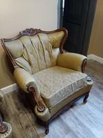Neobarokk warrings fotel