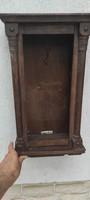 Antik fali vitrin szekrény polcos fiókos szekrény gyógyszer tartó, kulcstartó,kulcsos.Làmpa tartó