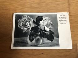 Születésnapi jókívánságok  - 40 -es évekből képeslap