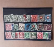 Régi bélyeg csomag
