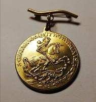 Sárkányölő Szent György medál