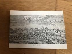 Régi Eisfeld - 1758 -as látképes képeslap