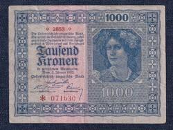 Ausztria 1000 Korona bankjegy 1922 (id30031)