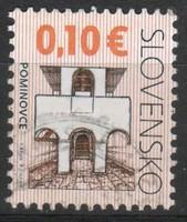 Szlovákia 0124 Mi 600        0,20 Euró