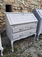 Barokk kecses szekreter Provence stílusban