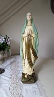 Régi,nagyméretű,gipsz Szűz Mária szobor