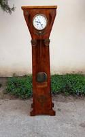 Jugendstil könyvtár óra(Állóóra). Carl Werner uhren fabrik. Kuriózum.