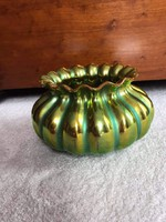 Zsolnay eozin gerezdes váza