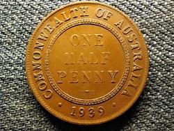 Ausztrália VI. György (1936-1952) 1/2 Penny 1939 (id49230)