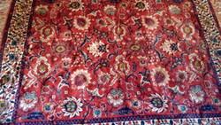 Mokett selyem szőnyeg,terítő 198*162cm