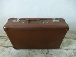 Régi,retro,kiváló állapotú,bőr utazó táska,koffer,bőrönd. Ritka MAGYAR! Kev Eger