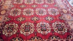 Mokett selyem szőnyeg,terítő 150*152cm