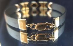 Arany-kaucsuk karkötő 5,9 g. arany
