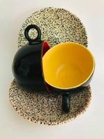 Sagmeister stílusú design eszpresszó csészék