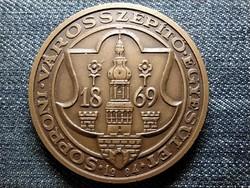Sopron Városszépítő Egyesület 1869-1984 bronz érem (id48290)