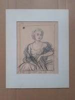 Helbing Ferenc: Női portré
