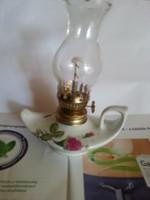 Porcelán petróleum lámpa pici