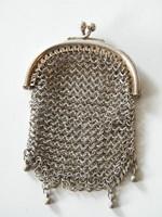 Antik ezüst (925) kis tárca