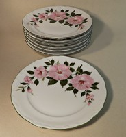 Winterling porcelán süteményes tányérok 6 +1 db