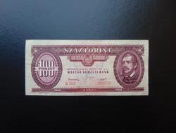 100 forint 1949 B 385 Rákosi címer !