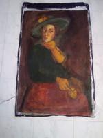 BAKÁNYI GYULA FESTMÉNY 100 x 70 cm