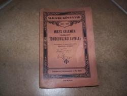 Mikes Kelemen törökországi levelei, kb. 1910-20