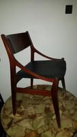 """Vestervig Eriksen""""mid century""""rózsafa szék."""