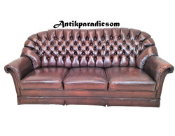 A334 Chesterfield bőr kanapé