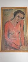 Zsuzsanna Náray oil painting