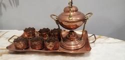 Szecessziós tea kávé forraló készlet WMF.  Alkudható!