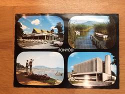 Fonyód képeslap