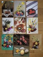 Vegyes Húsvéti tojások képeslapok