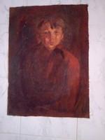 BAKÁNYI GYULA FESTMÉNY 70 x 50 cm