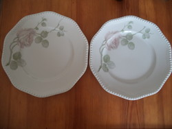 2 db. Rosenthal rózsás tányér