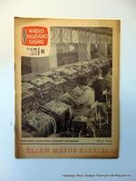 1966 május 2  /  RÁDIÓ és TELEVÍZIÓ ÚJSÁG  /  regiujsag Ssz.:  15108