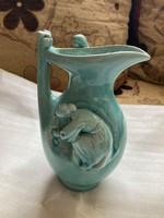 Zsolnay alapmázas arató váza