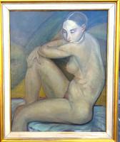 Gábor Jenő (1893-1968) : Álmodozó akt