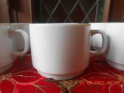 Zsolnay fehér kávés csésze