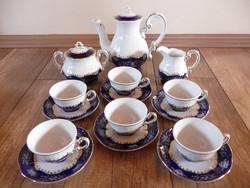 Zsolnay Pompadour mintás kávéskészlet